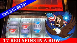 $18-$45 BETS 💵 VGT 9 LINE SLOT MACHINE 🦅 LAND OF THE FREE SPINS 🦅 & BUFFALO REVOLUTION!