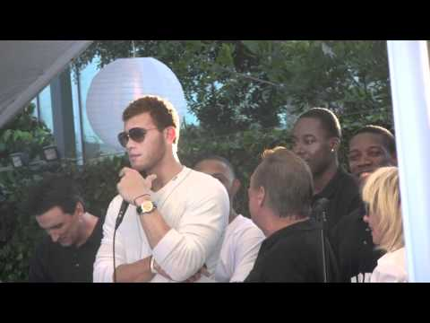 Blake Griffin Sterling LA Clippers White Party