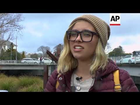 Survivors of Florida school shooting plant trees in New Zealand