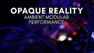 'Opaque Reality' Ambient Modular Performance (Peak, E370, Plaits, NerdSeq, Bitbox)