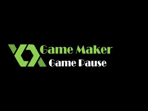 Game Maker Pause Menu
