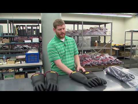 Behind the Scenes: FirstEnergy's in-house electrical glove testing facility