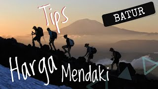 Tips dan Harga Mendaki Gunung Batur Bali, Trek Mt. Batur 2019