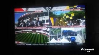 River vs Boca en vivo (Instagram @nacholastrabaez hora de partido)