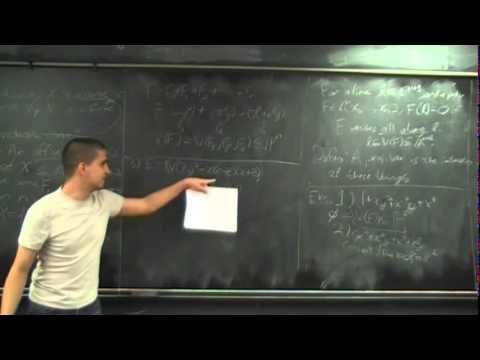 MMUSSL - Algebraic Curves 1