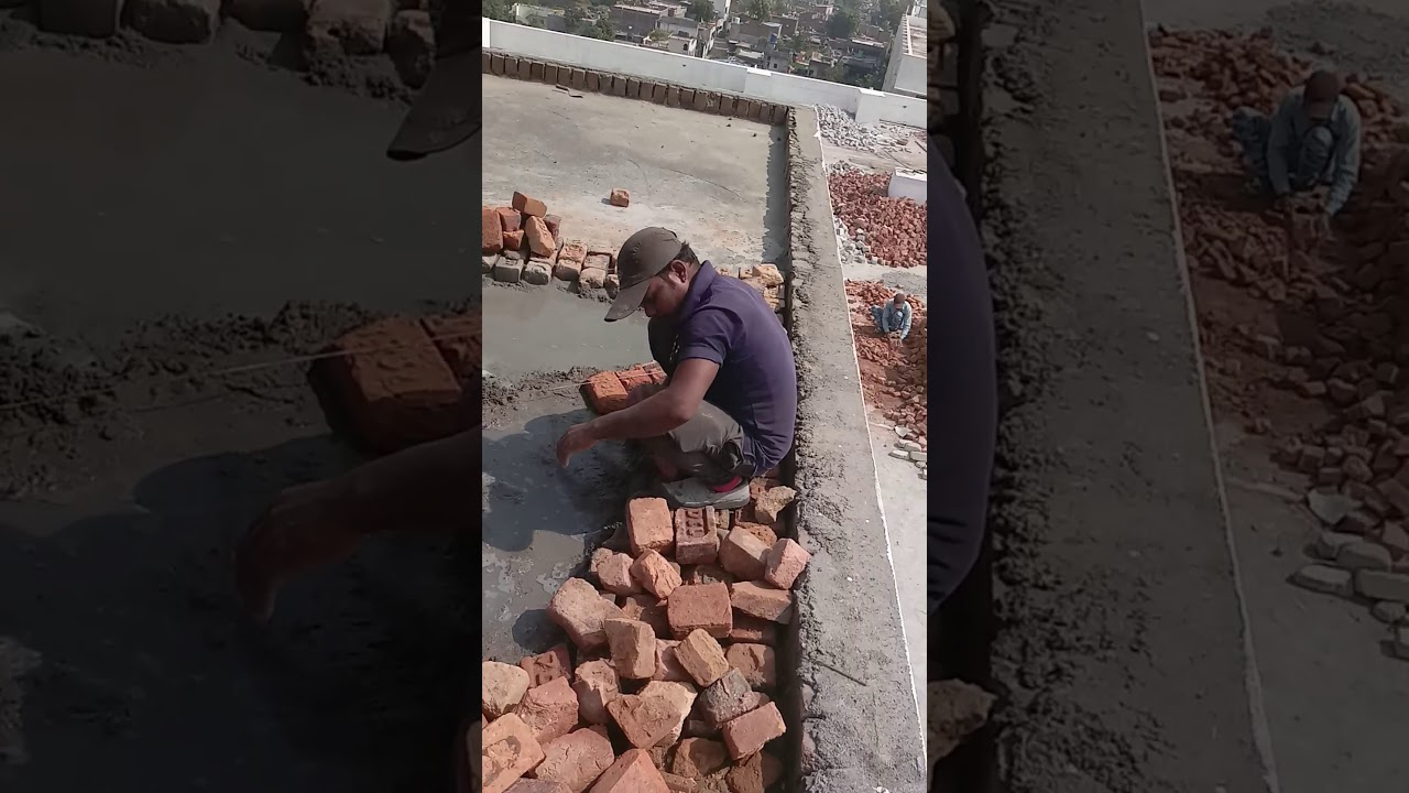 Waterproofing Treatment To Brick Bat Coba Terrace Slab