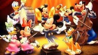 Walt Disney Cartoons- Tổng Hợp Phim Hoạt Hình Walt Disney Vịt Donald,Mickey Mouse...