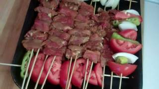 Kabab,  How To Make Kabab Barg In An Oven