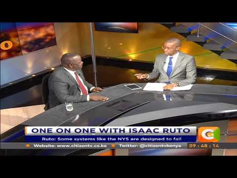 Citizen Extra: One on one with Isaac Ruto