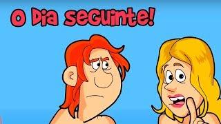 O DIA SEGUINTE DE UMA NOITE PÉ NA JACA! (Do Baú)
