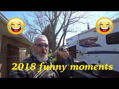 Funny camping moments 2018