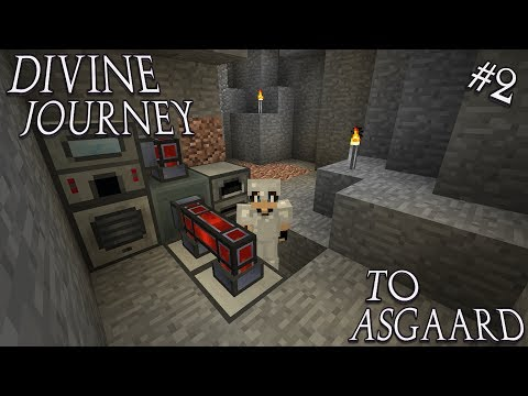 Minecraft 1.7.10 Divine Journey Ep 2: RF Power and Monsters Galore!