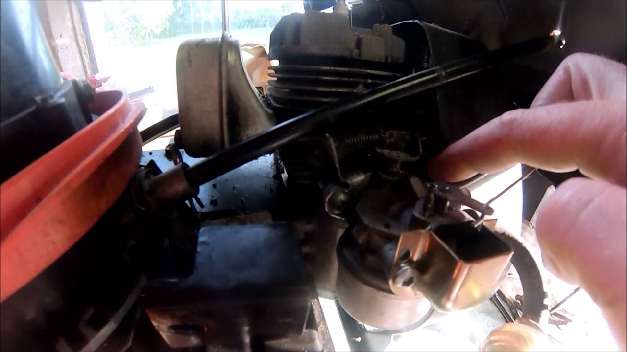 small resolution of ariens snowblower repair and carb cleaning