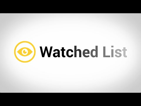 Using the Watched List on the New BigIron Website