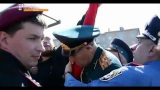 2016.05.09 Бессмертный полк на улицах Киева. Первый канал.