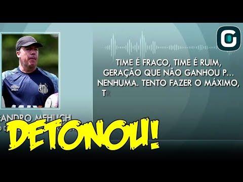 """EXCLUSIVO: Vaza ÁUDIO POLÊMICO no Santos: """"Geração que não ganhou P... NENHUMA"""" (20/12/18)"""