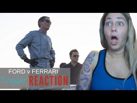 FORD v FERRARI Official Trailer Reaction and Review!