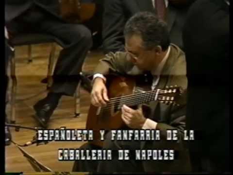 Pepe Romero plays Fantasia para un gentilhombre by Joaquin Rodrigo