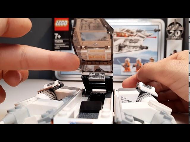 75259 LEGO Dnowspeeder 20th Anniversary Edition Review Deutsch/German Brick on Block