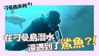 第一次在刁曼島潛水 竟然遇到了小鯊魚?!【刁曼島系列#1】| Tioman island Malaysia 馬來西亞 pulau tioman