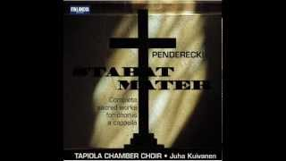Krzysztof Penderecki - Benedicamus Domino