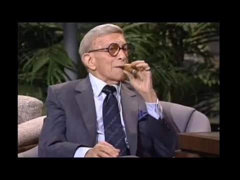George Burns Carson Tonight Show 1989