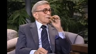 George Burns Carson Tonight Show 1989