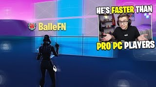 I spectated the FASTEST EDITOR on Mobile... (better than PC Players)