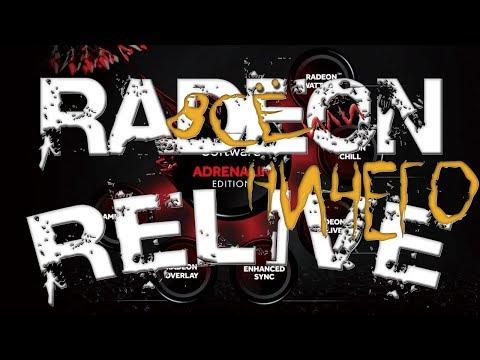 RADEON RELIVE - как записывать и стримить и получать от этого удовольствие...