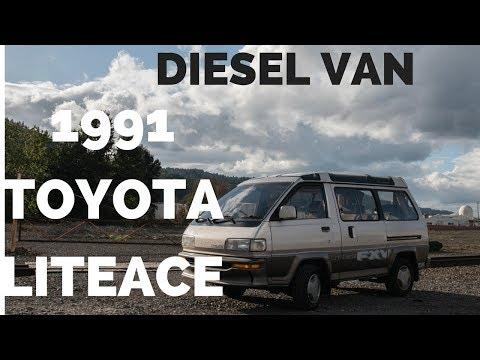 1991 Toyota Liteace Diesel Van FXV Skylite Roof