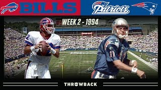 A Classic Aerial Shootout! (Bills vs. Patriots 1994, Week 2)