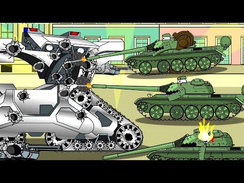 охотник убийца T2 - мультики про танки
