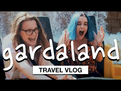 Day Trip To An Adventure Park GARDALAND in Italy 😍  | Travel Vlog