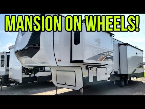Download MANSION ON WHEELS! This LUXURY RV will blow you away! Cedar Creek Champagne 38EL