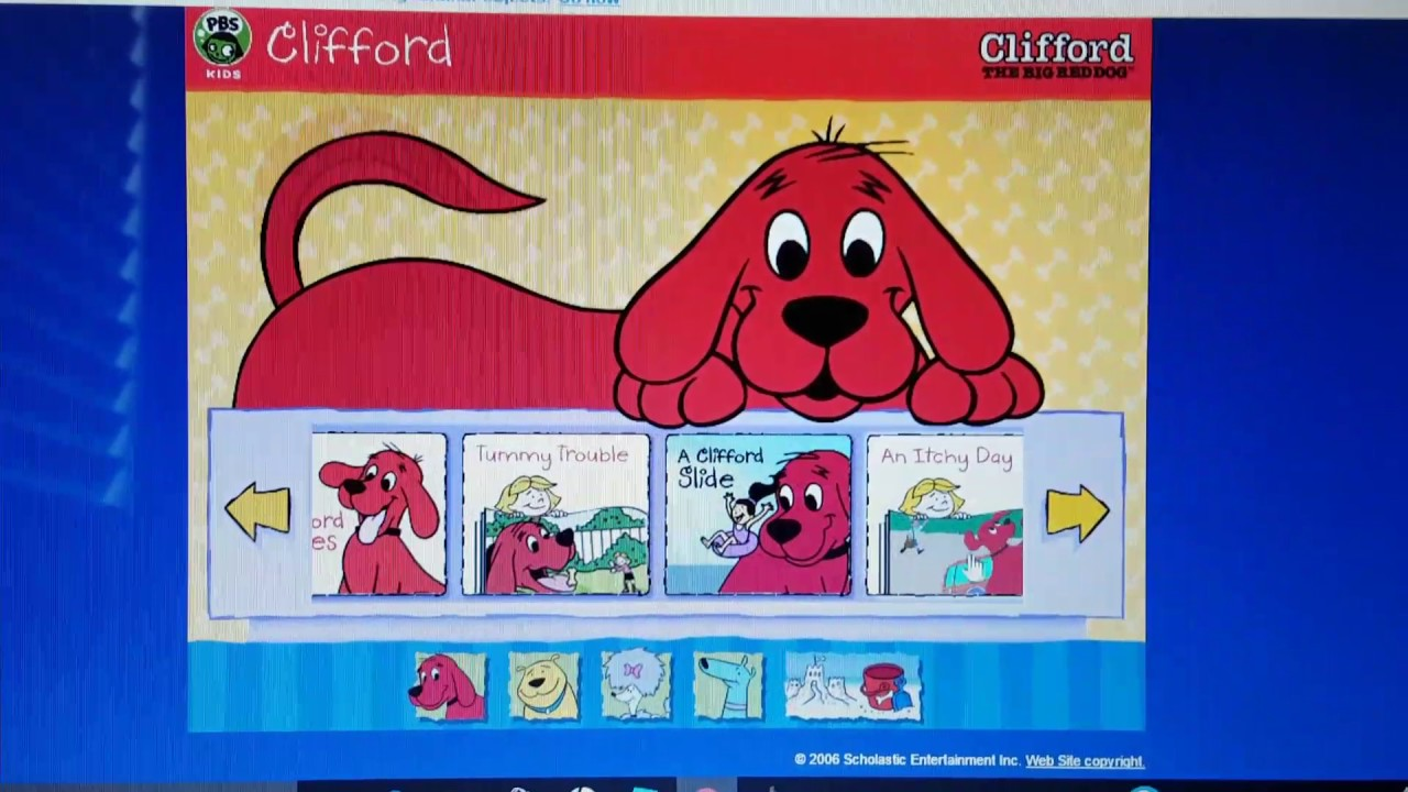Clifford The Big Red Dog Promo
