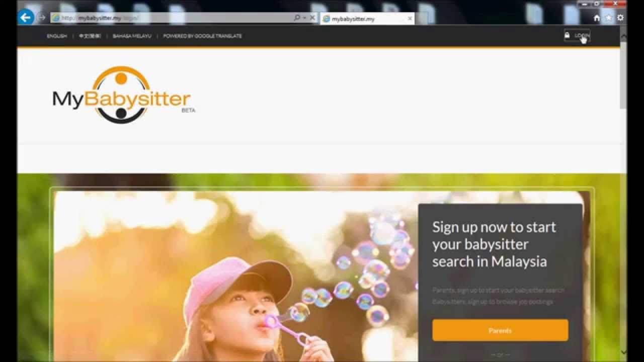 How To Create A Babysitter Profile On Mybabysitter My