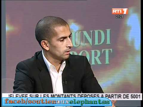 Sabri Lamouchi /Lundi sport RTI 1