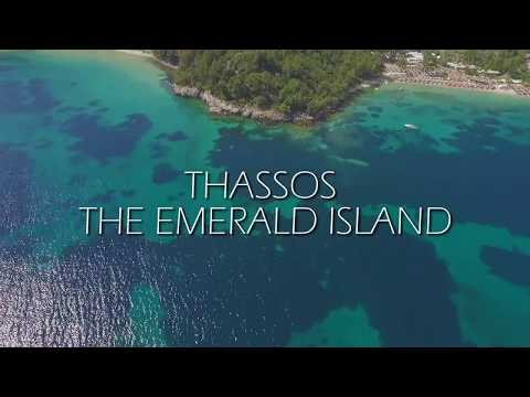 Thassos : the Emerald Island of the Aegean Sea (Aerial)