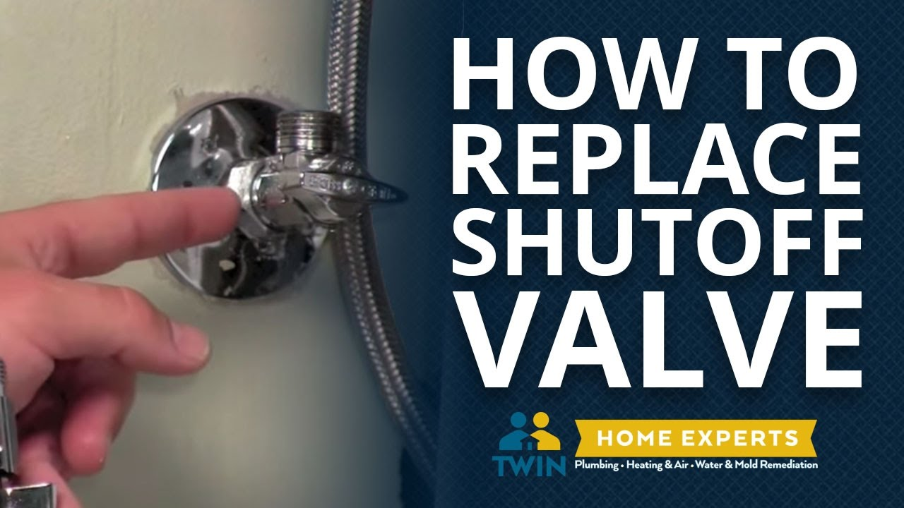 How To Replace A Shut Off Valve Under