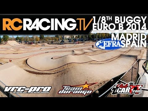 "EFRA 1/8th Off Road ""B"" Euros  - A Main Final in HD - RC Car Racing"