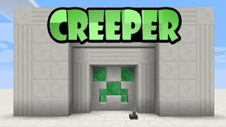 PUERTA CREEPER 1.7.2 / REDSTONE (Tutorial Facil) DOWNLOAD