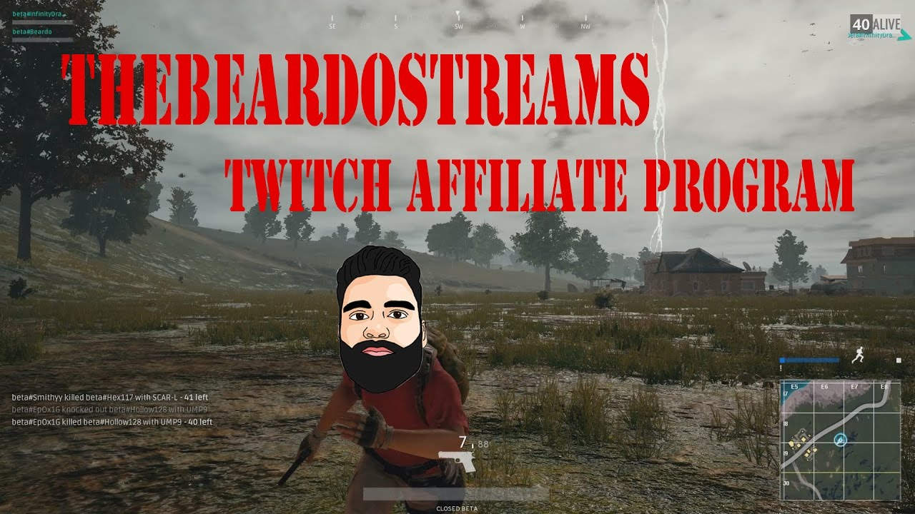 twitch how to get affiliate