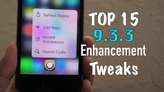 Top 15 Enhancement Tweaks (Free) iOS 9.3.3