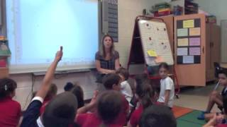 First Grade Minilesson
