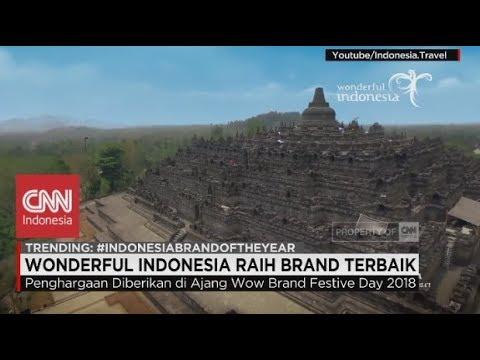Selamat! Wonderful Indonesia Raih Penghargaan Brand Terbaik