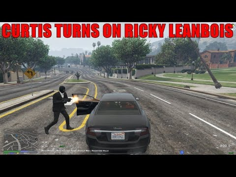 Curtis Turns On Ricky In Store Hold Up Getaway | Nopixel GTA RP