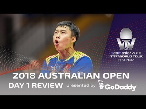 2018 Australian Open   Day 1 Review presented by GoDaddy