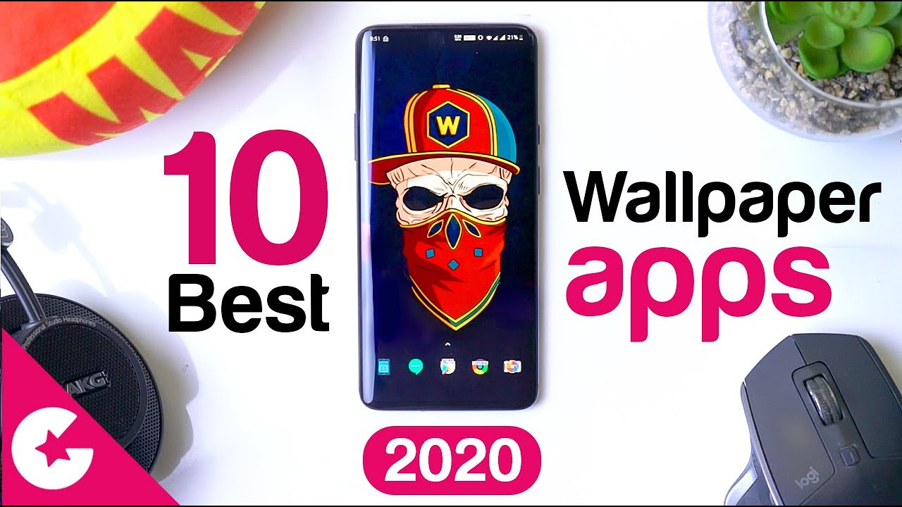 Top 10 Best Free Wallpaper Apps For Android 2020 Youtube