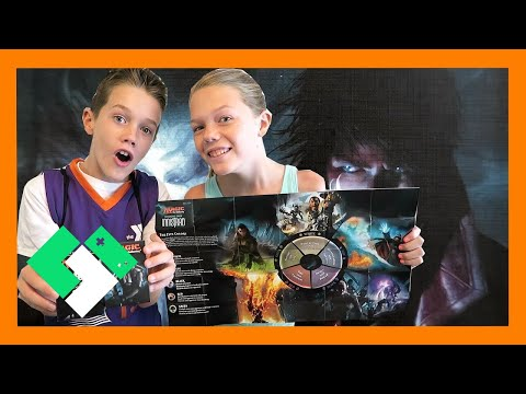 KIDS BUILD FIRST MAGIC THE GATHERING DECKS (Day 1561) | Clintus.tv
