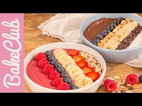 Zweierlei Smoothie Bowls | Breakfast Bowls | BakeClub